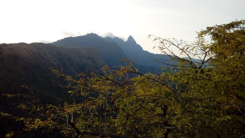 Pemandangan Kawasan Bukit Selo Ringgit