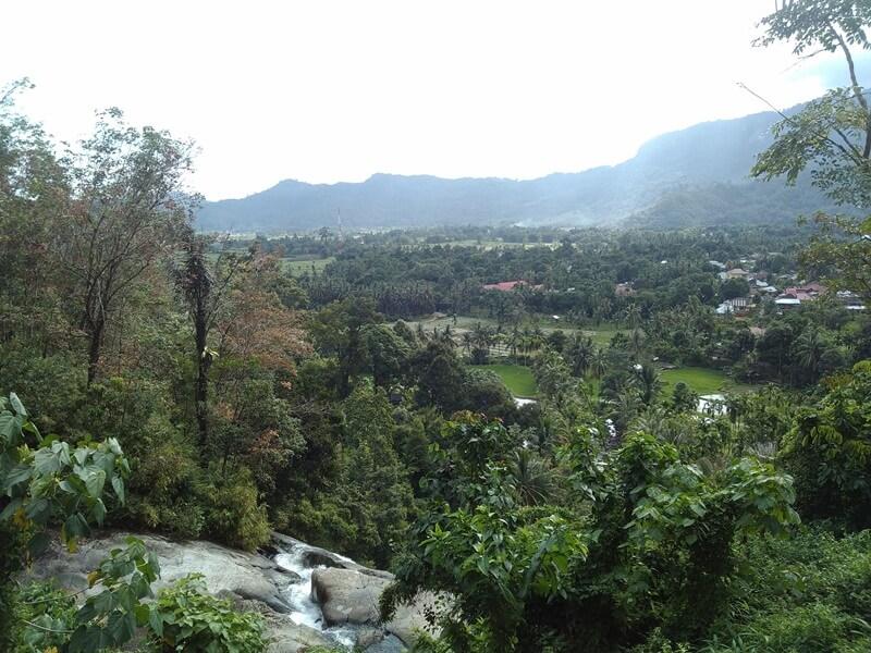 View Puncak Air Terjun Bayang Sani Tingkat 2