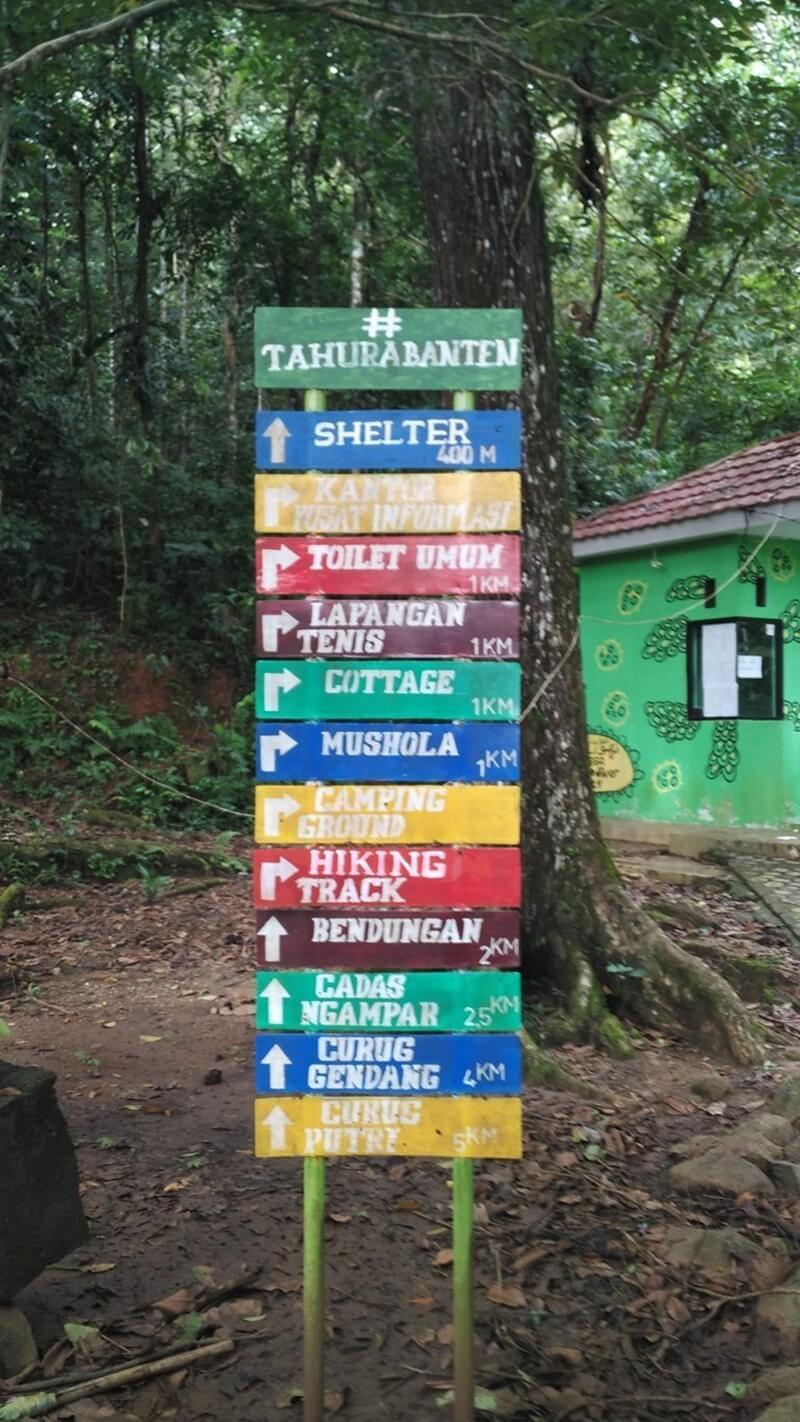 Beragam Fasilitas Dan Wisata Di Taman Hutan Rakyat Banten