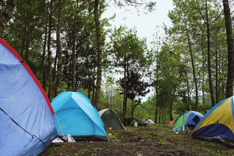 Camping di Punceling Pass