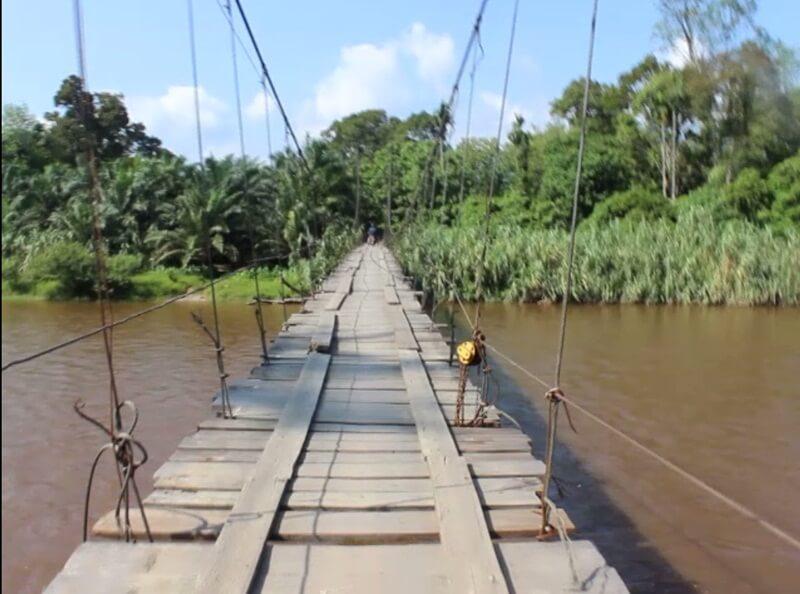 Jembatan Di Level Pertama
