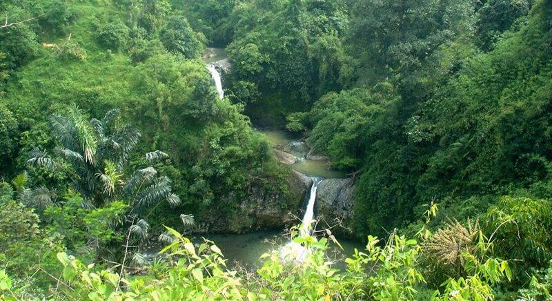 Landscape Curug Bentang Subang