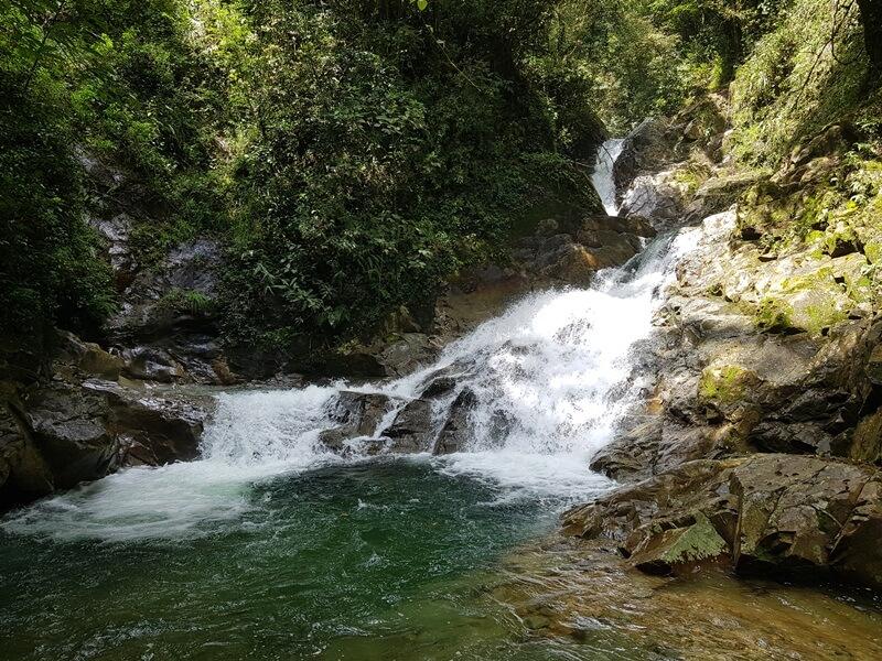 Lokasi Utama Air Terjun Simempar