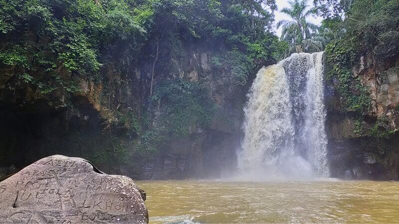 Pesona Keindahan Air Terjun Simonang-Monang