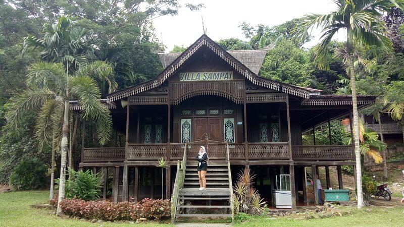 Villa Di Air Terjun Pinang Seribu