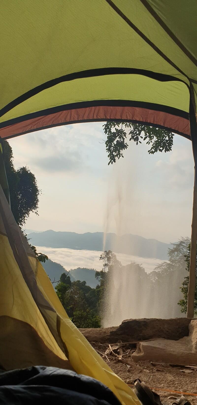 Camping Di Belakang Air Terjun Batang Kapas