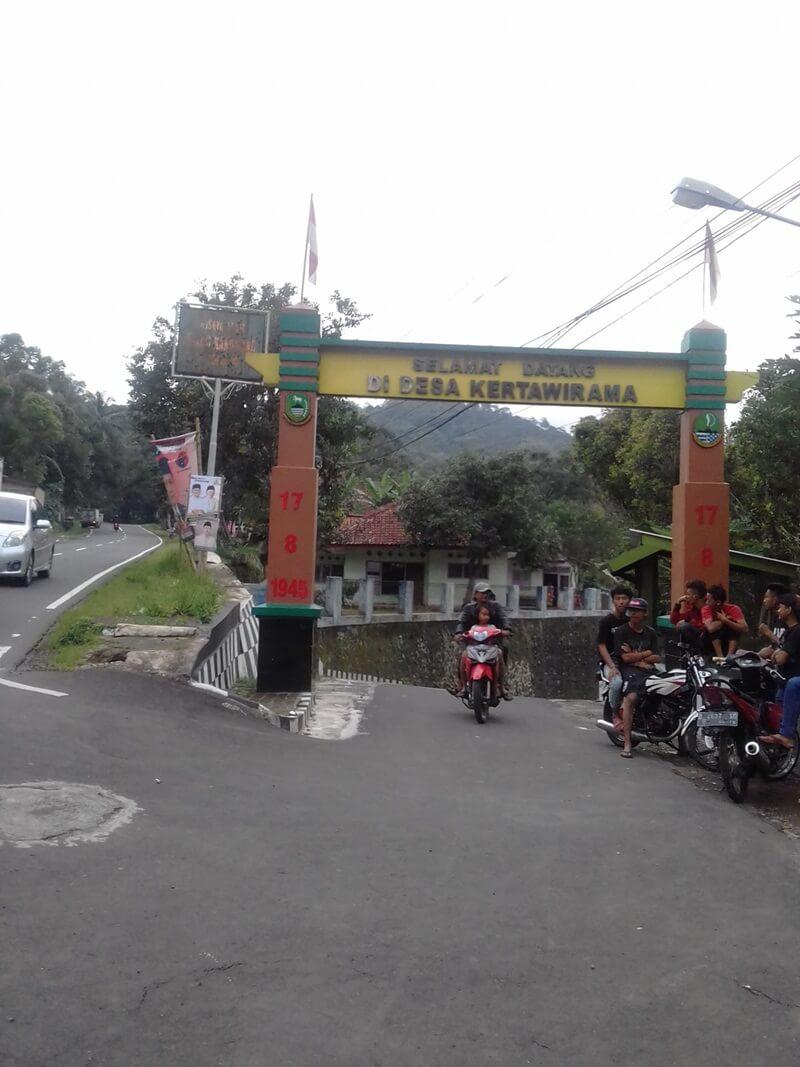 Gerbang Desa Kertawirama