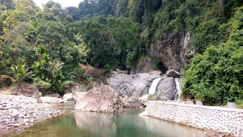 Lokasi Utama Air Terjun Timbulun Painan