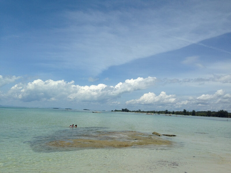 Pantai Punai Geopark Belitung