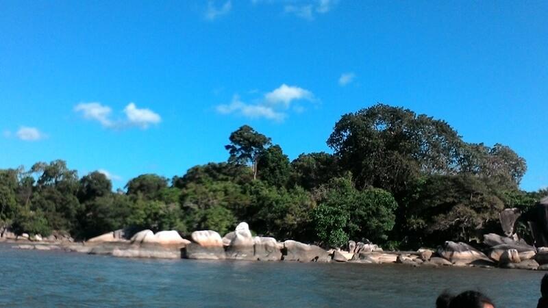 Pantai Tanjung Batu Pulas Geopark Belitung