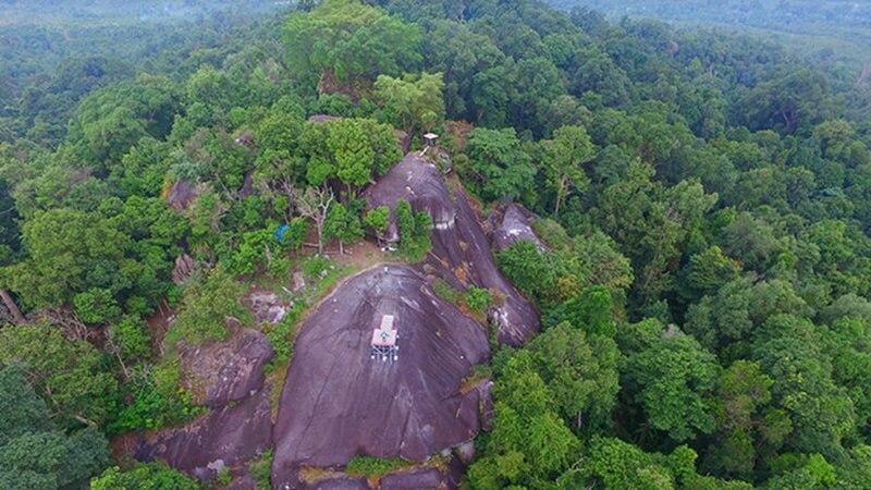 Peramun Hill Geopark Belitung