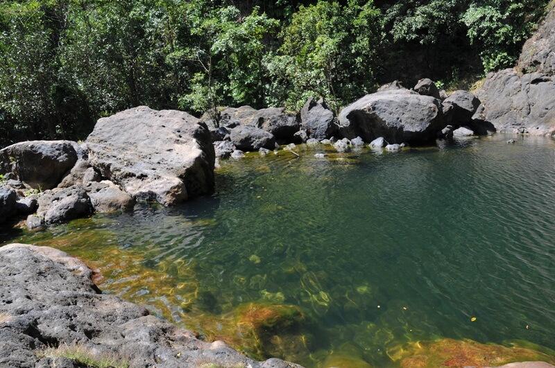 kolam alami air terjun cunca rami