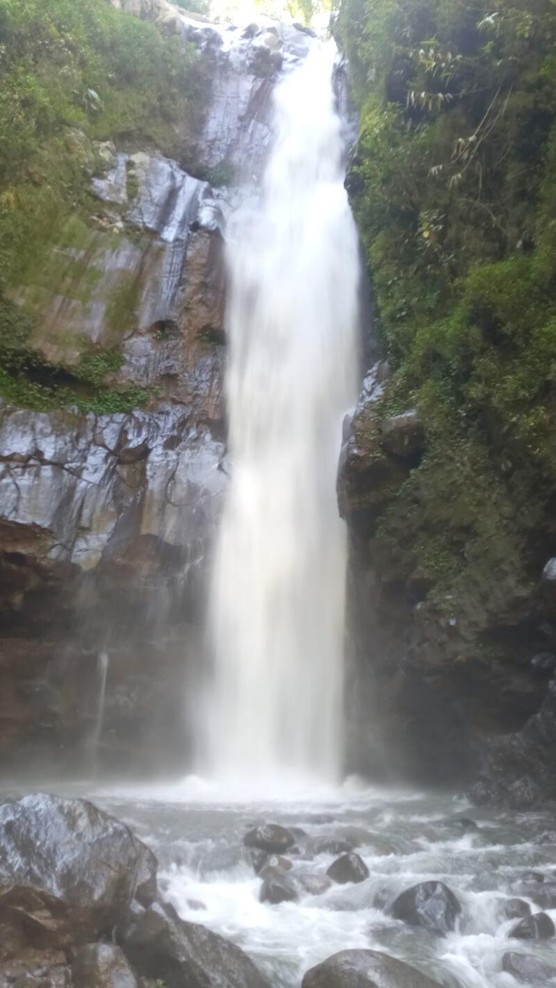 lokasi utama air terjun kedung kayang