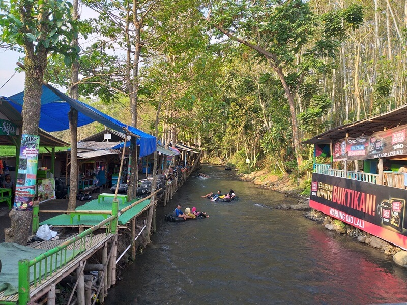 trekking river tubing
