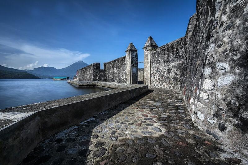 benteng kalamata, benteng bersejarah