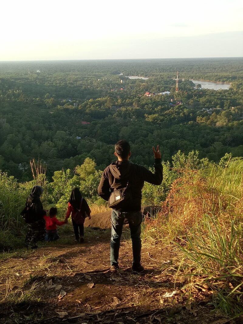 trekking yang melelahkan terbayarkan