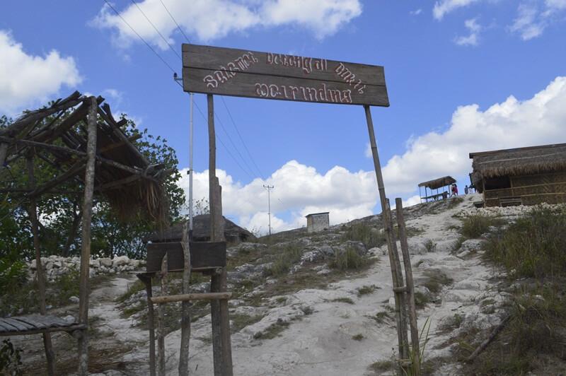 pintu masuk sederhana bukit wairinding