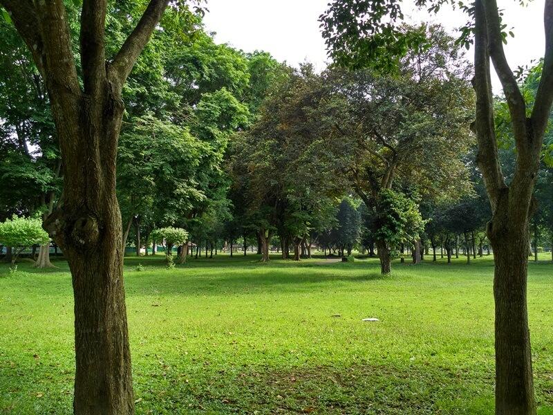 taman di sekitar candi bubrah