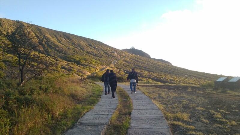jalur trekking yang dilalui