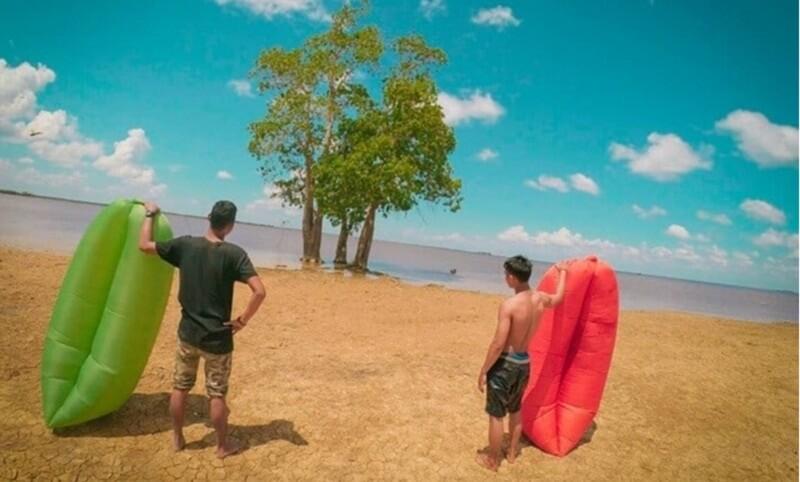 danau rasa pantai