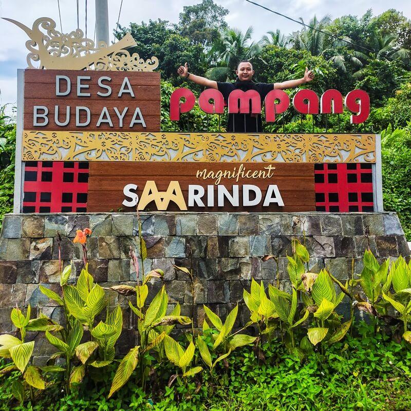 landmark desa budaya pampang