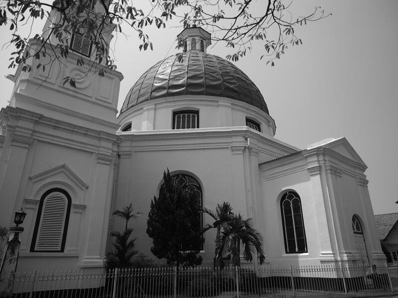 sejarah gereja blenduk