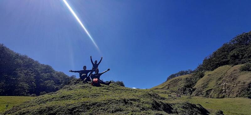pendakian yang menyenangkan