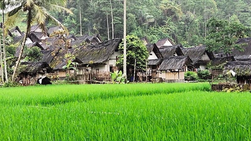 arsitektur bangunan desa naga
