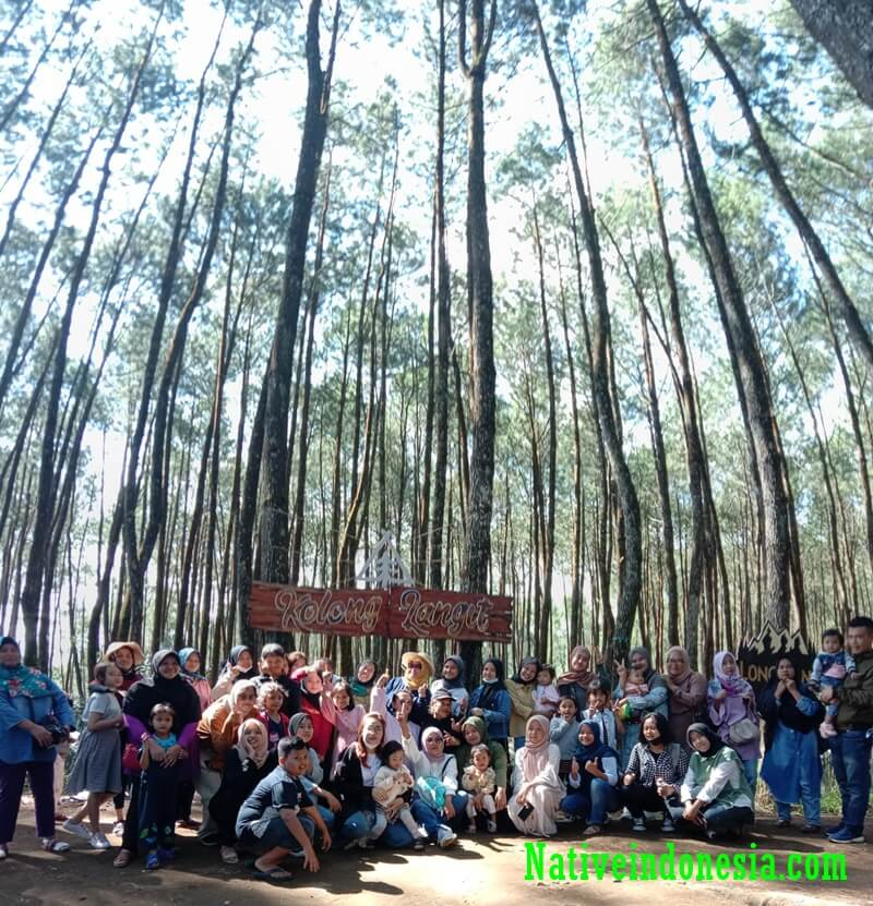 wisata keluarga di bawah langit, Cilawu, Garut
