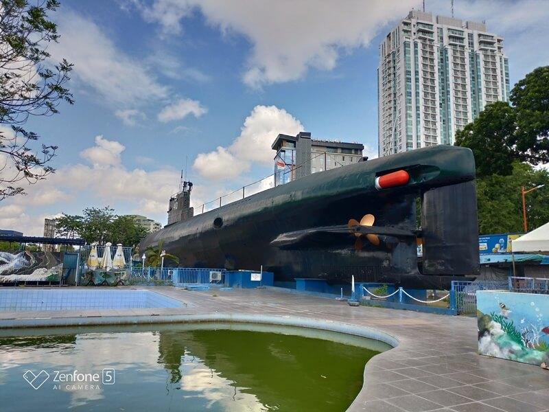 area di luar kapal selam