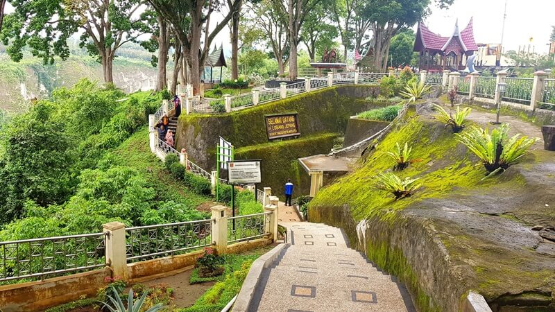 rute menuju lobang jepang