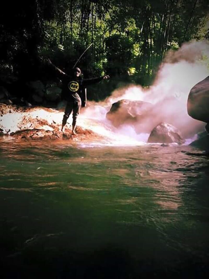 pemandian air panas malanage