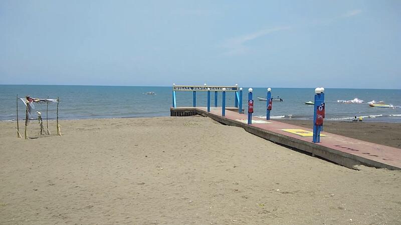 pantai galesong