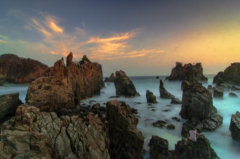 panorama alam yang cantik