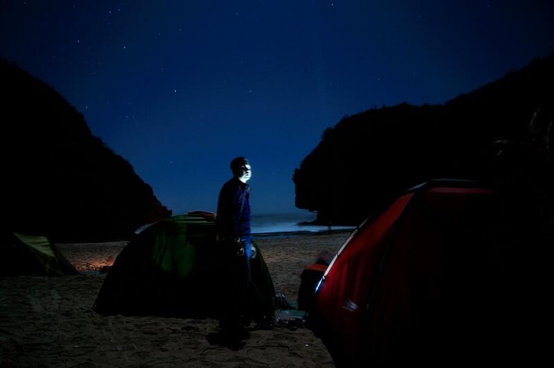 suasana di malam hari
