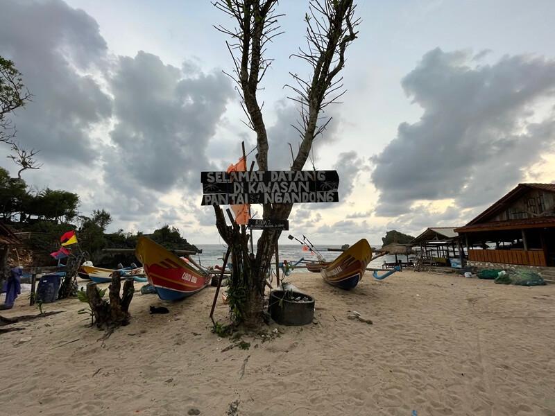 pantai nelayan pantai ngandong