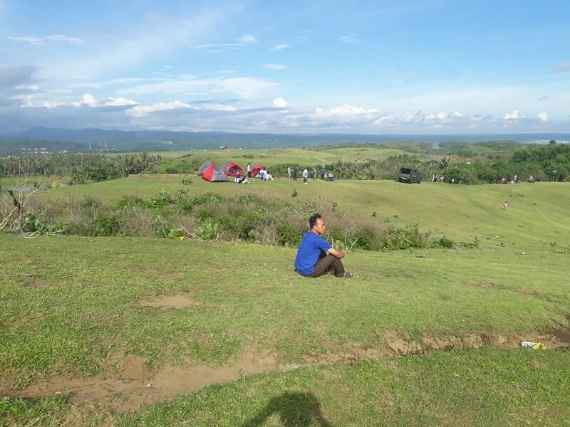 camping di bukit teletubies