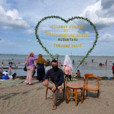 Pantai Tanjung Pasir, Surganya Memancing Di Pantai Tangerang