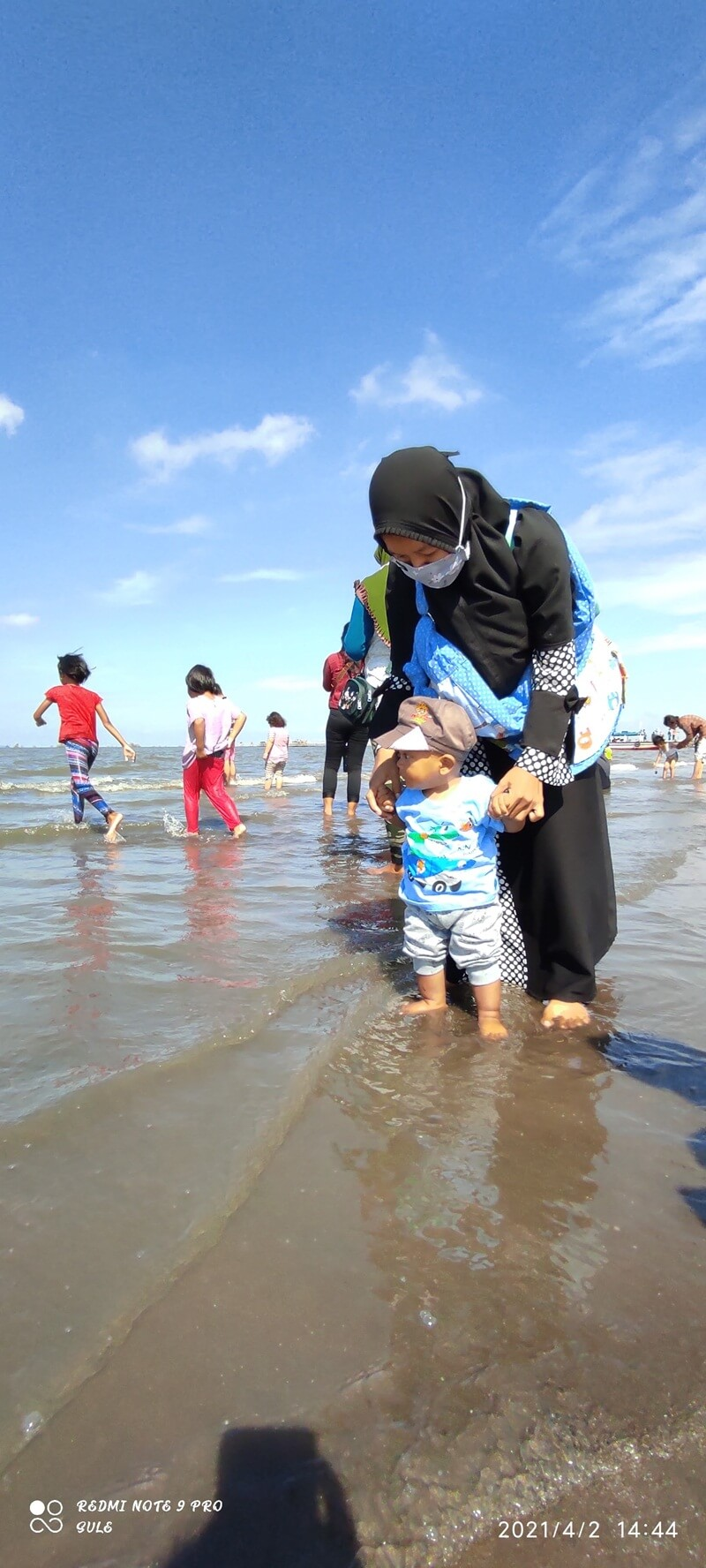 pantai tanjung pasir aman untuk semua usia
