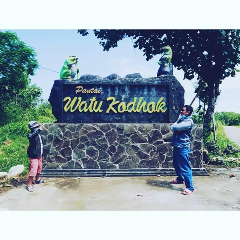 landmark pantai watu kodok