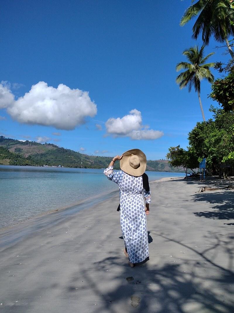 pesona pulau diyonumo gorontalo