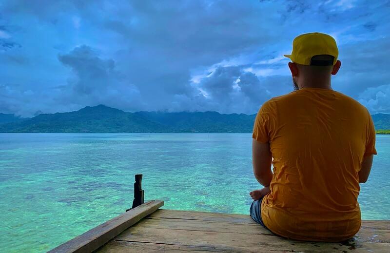 geliat wisata pulau karampuang