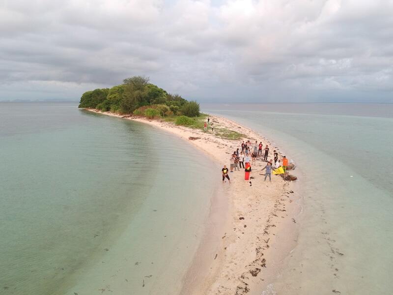 pulau langkadea kepulauan pangkajene