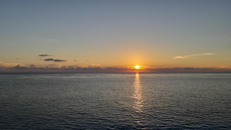 sunset di pulau maratua