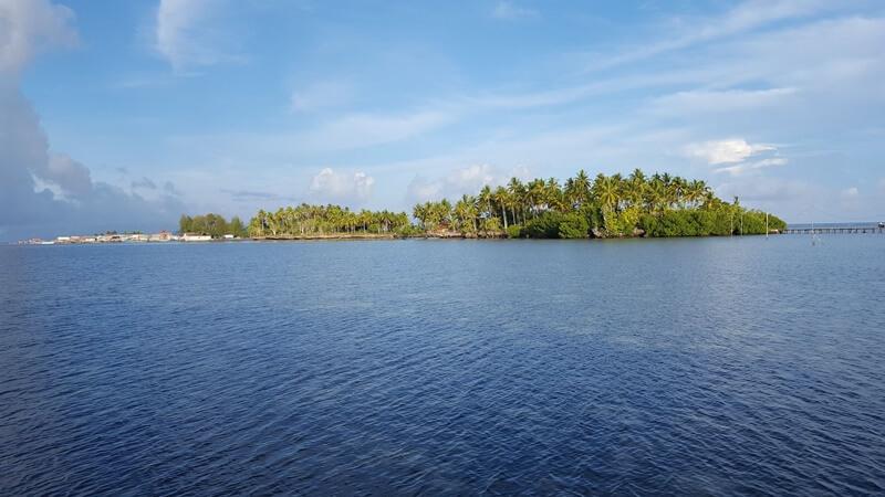 panorama alam pulau osi