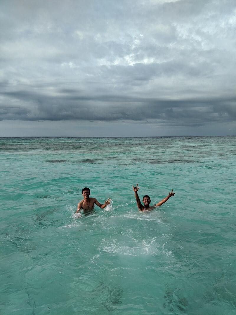 bermain air pantainya