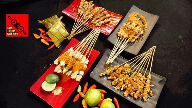 beragam menu di sate taichan goreng mas rizki