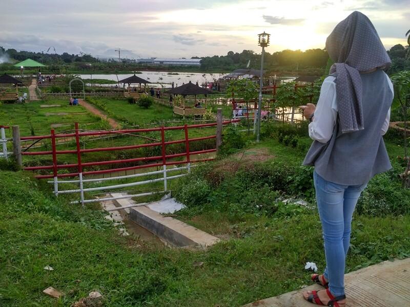 landscape taman limo jatiwangi