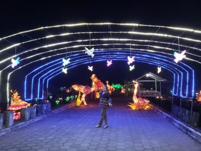 Taman Pelangi Jogja, Wisata Malam Jogja Yang Instagramable