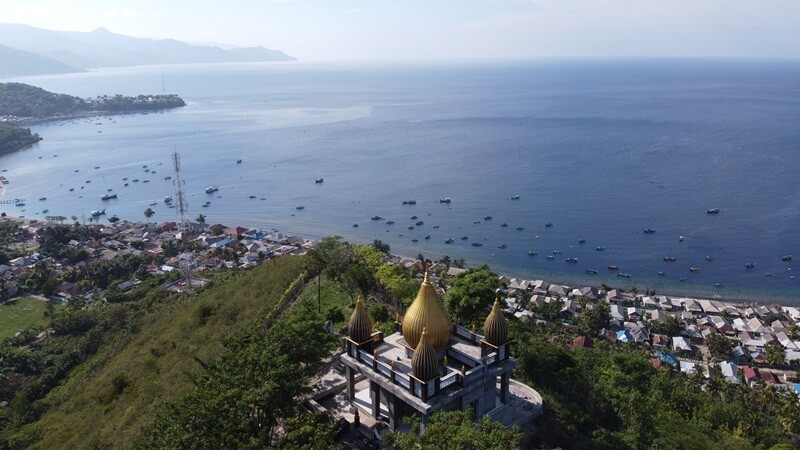 landscape masjid walima emas